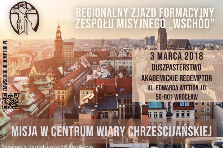 """Zaproszenie na zjazd ZM """"WSCHÓD"""" do Wrocławia"""