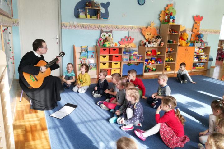 Spotkanie z przedszkolakami w Szynwałdzie