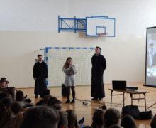Spotkanie z uczniami SP w Siedliskach k. Bobowej (2)