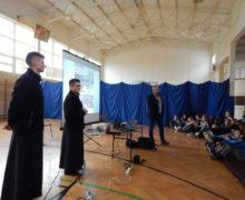 Spotkanie z uczniami SP w Siedliskach k. Bobowej (5)